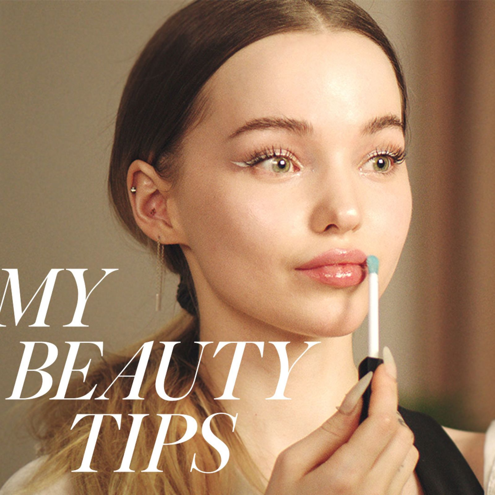 Dove Cameron's 16-Step Guide To That Coveted Dewy Look