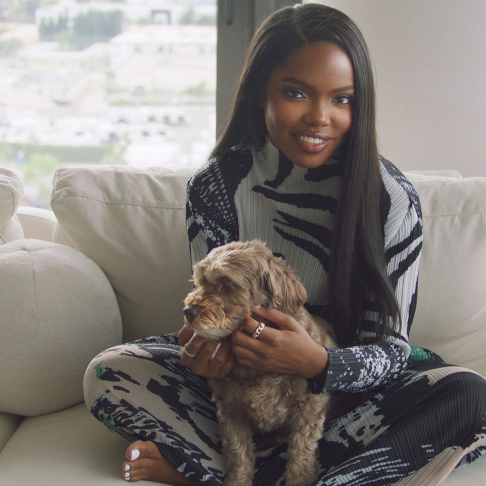 Join Ryan Destiny at home for her Perfect Night In