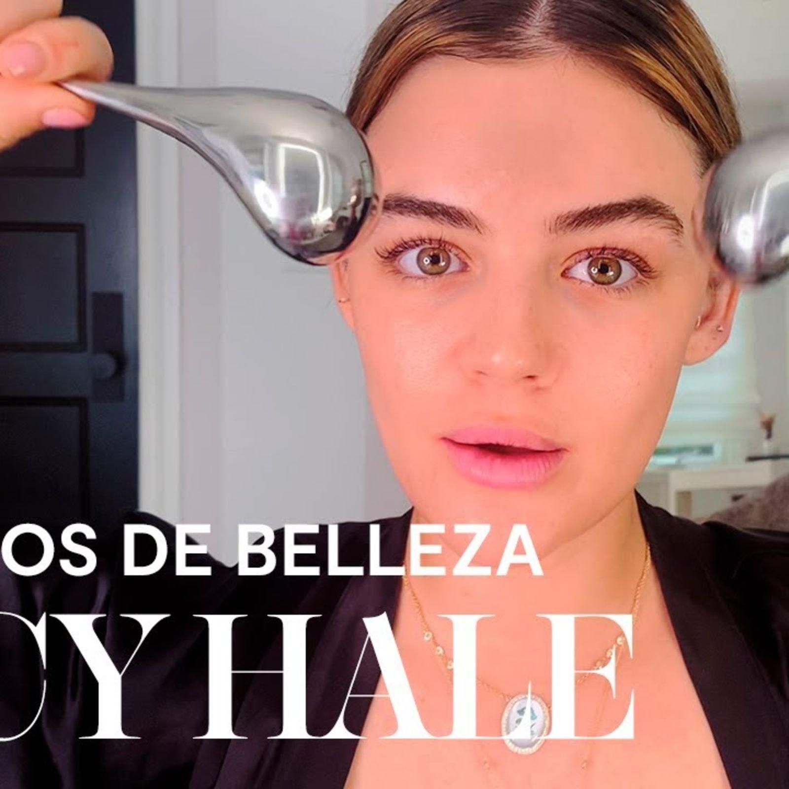El look de maquillaje del Hollywood moderno de Lucy Hale | Secretos de belleza