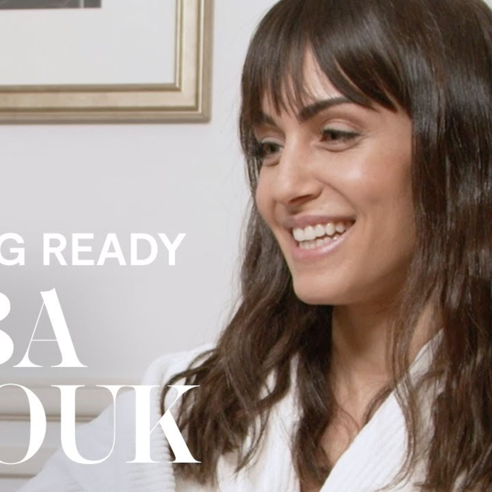 Así se preparó Hiba Abouk para los Premios Goya 2021 | Getting ready