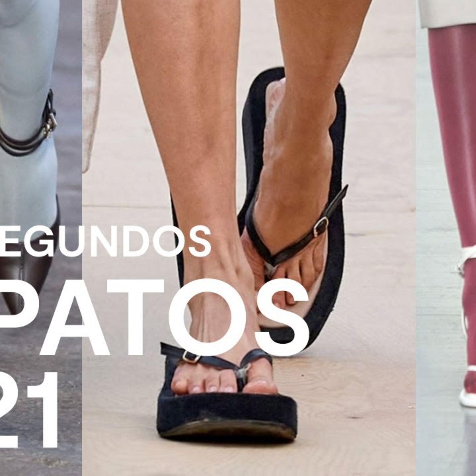 Los zapatos de primavera-verano 2021 en 60 segundos
