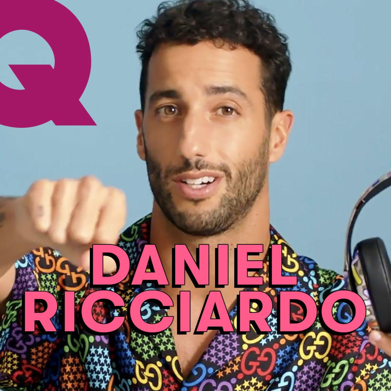 Les 10 Essentiels de Daniel Ricciardo (casque de course, eau de cologne et chemise de soirée)