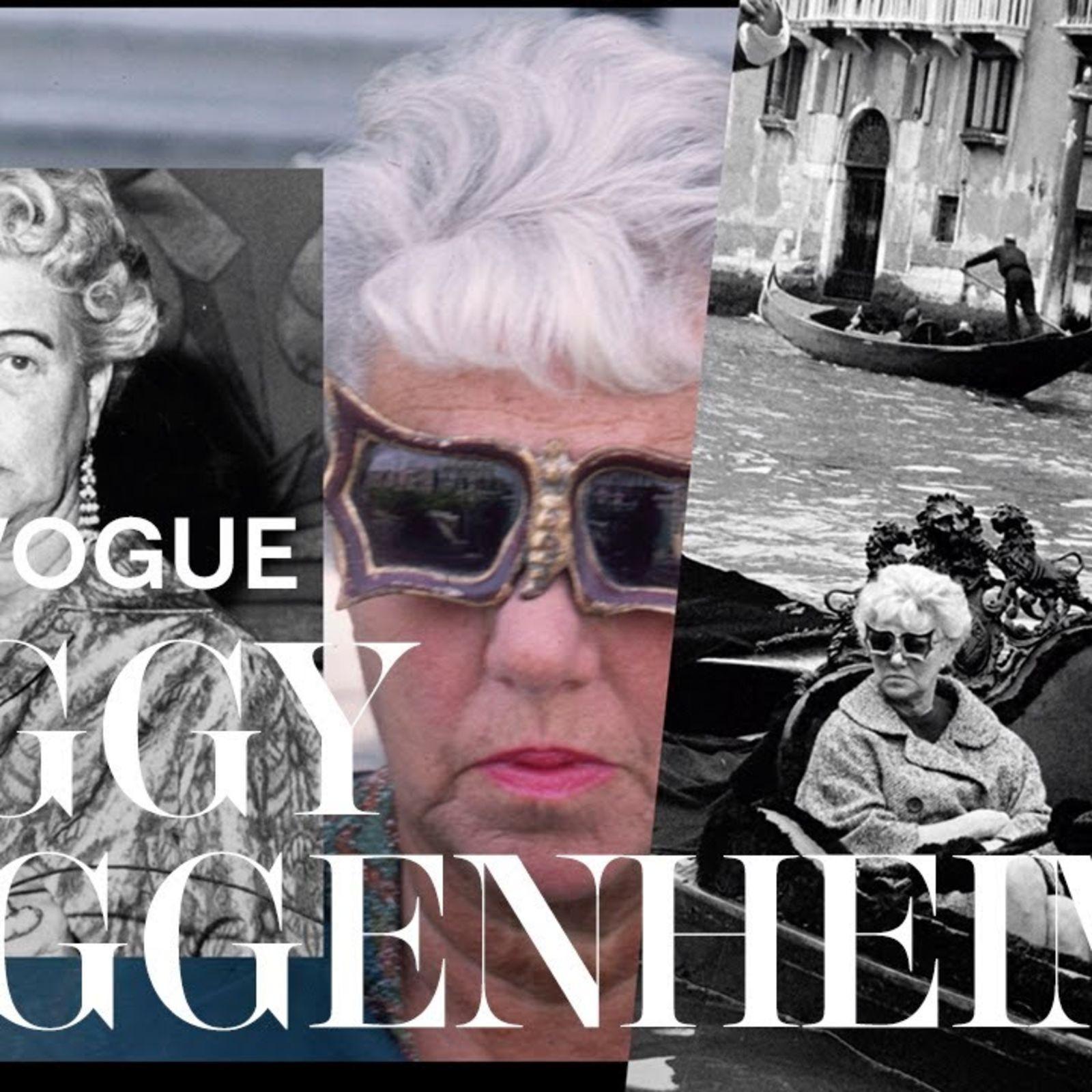 Vidas Vogue: Peggy Guggenheim