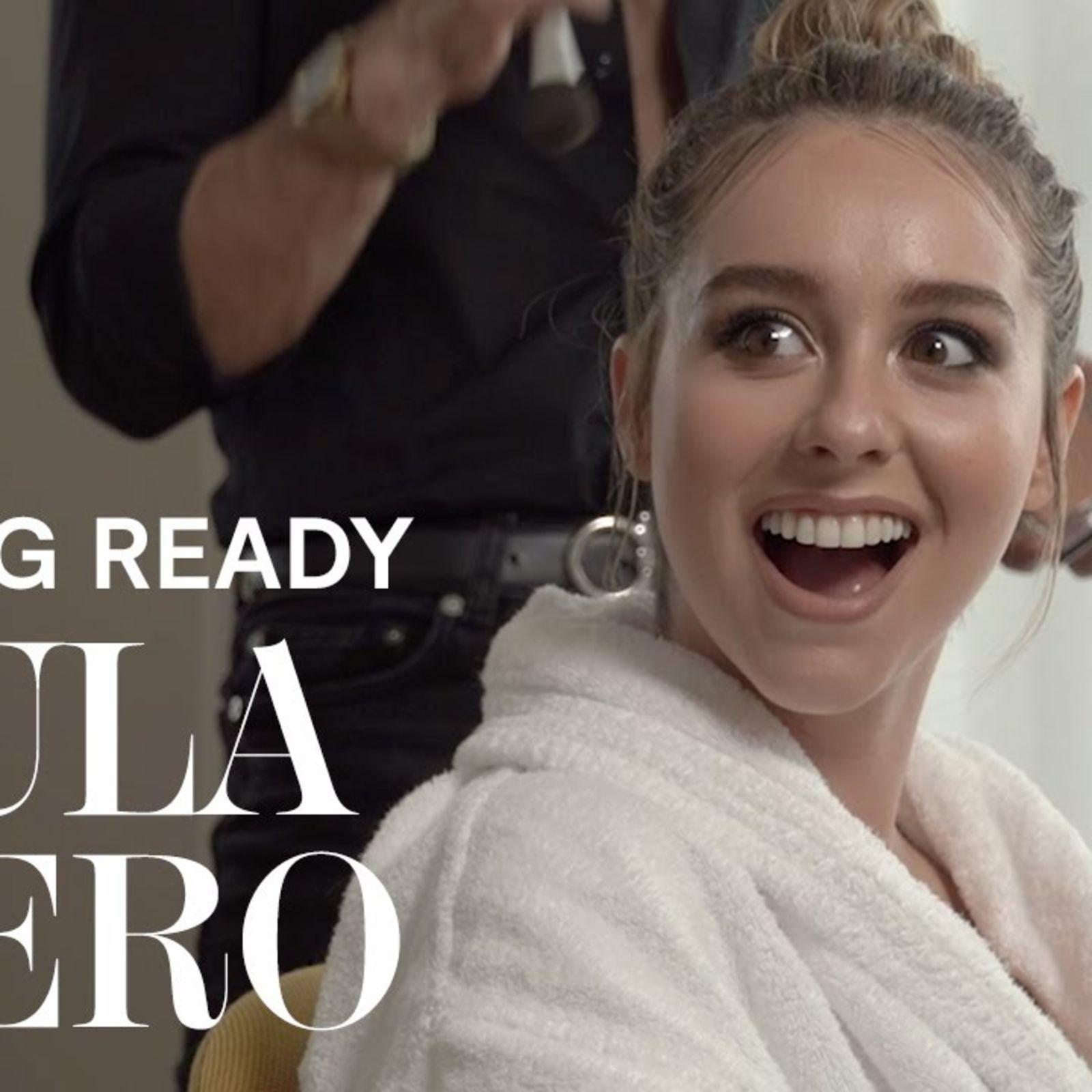 Paula Usero se prepara para los Premios Feroz 2021 | Getting ready
