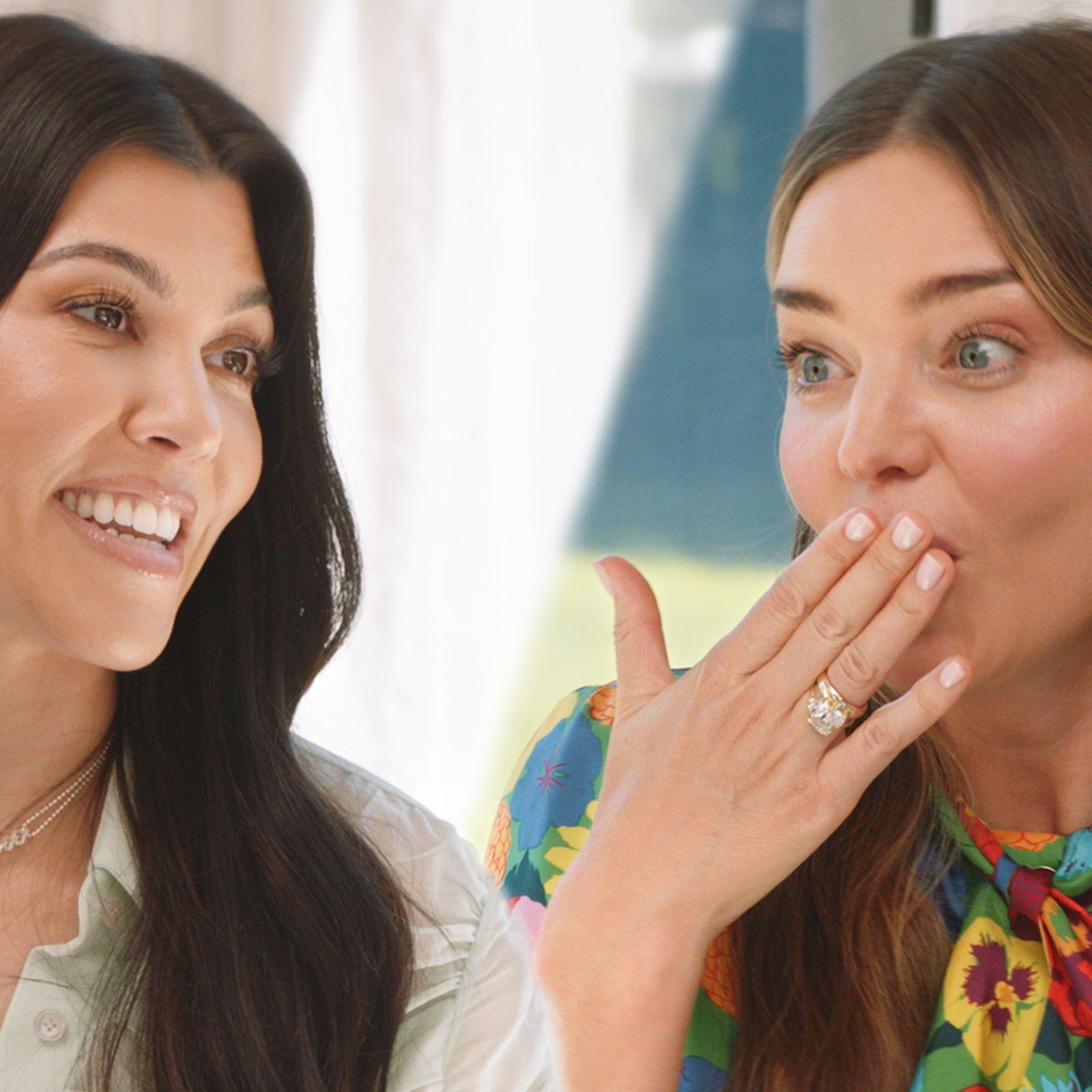 Miranda Kerr y Kourtney Kardashian se unen a Vogue para cenar