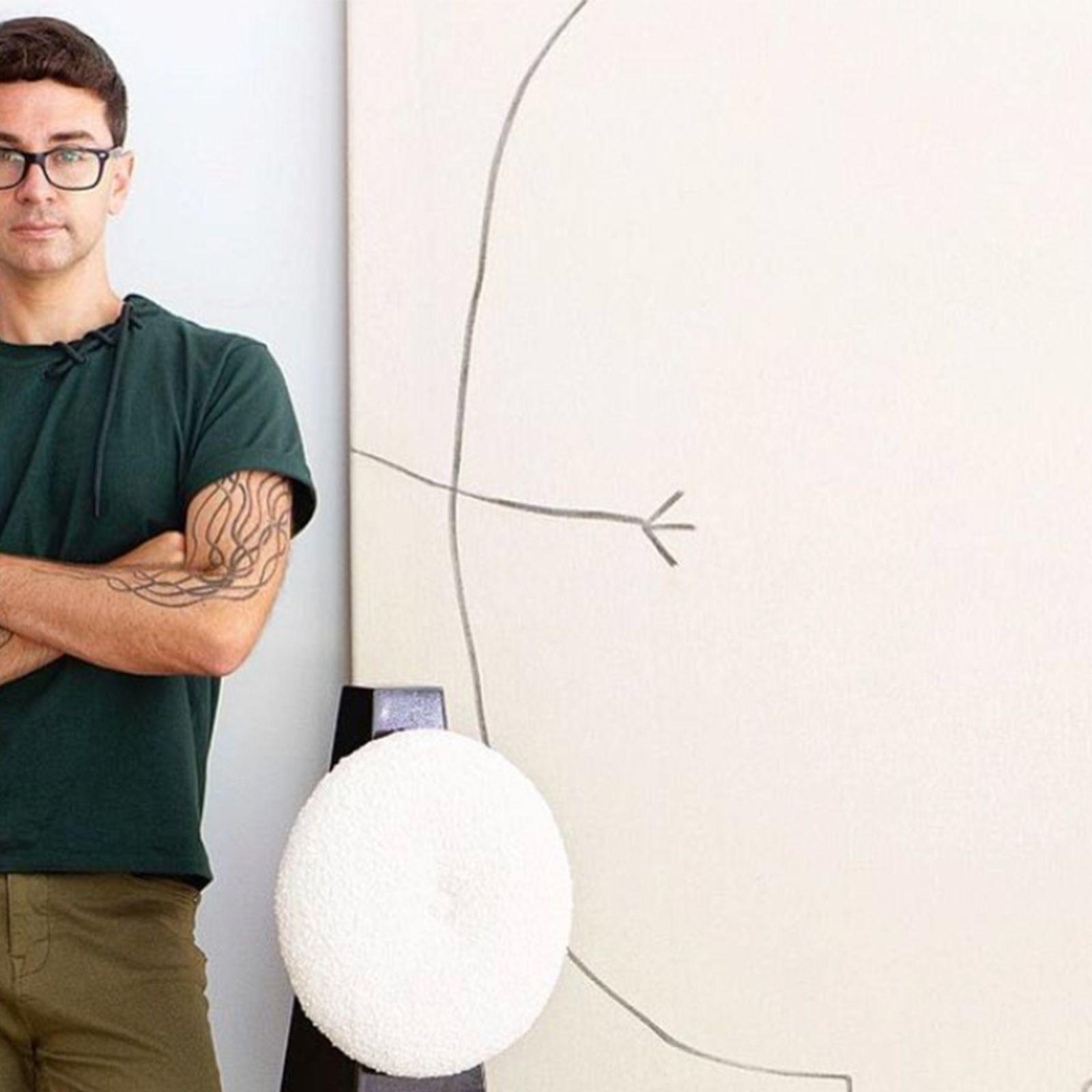AndarPorCasa con el diseñador de moda Christian Siriano