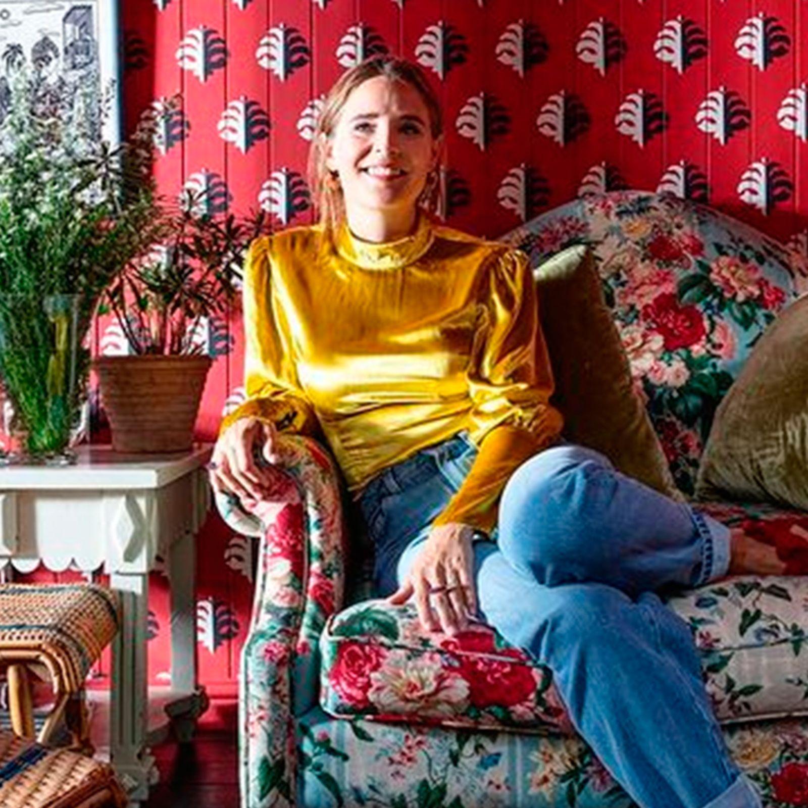 AndarPorCasa de la diseñadora de interiores Beata Heuman