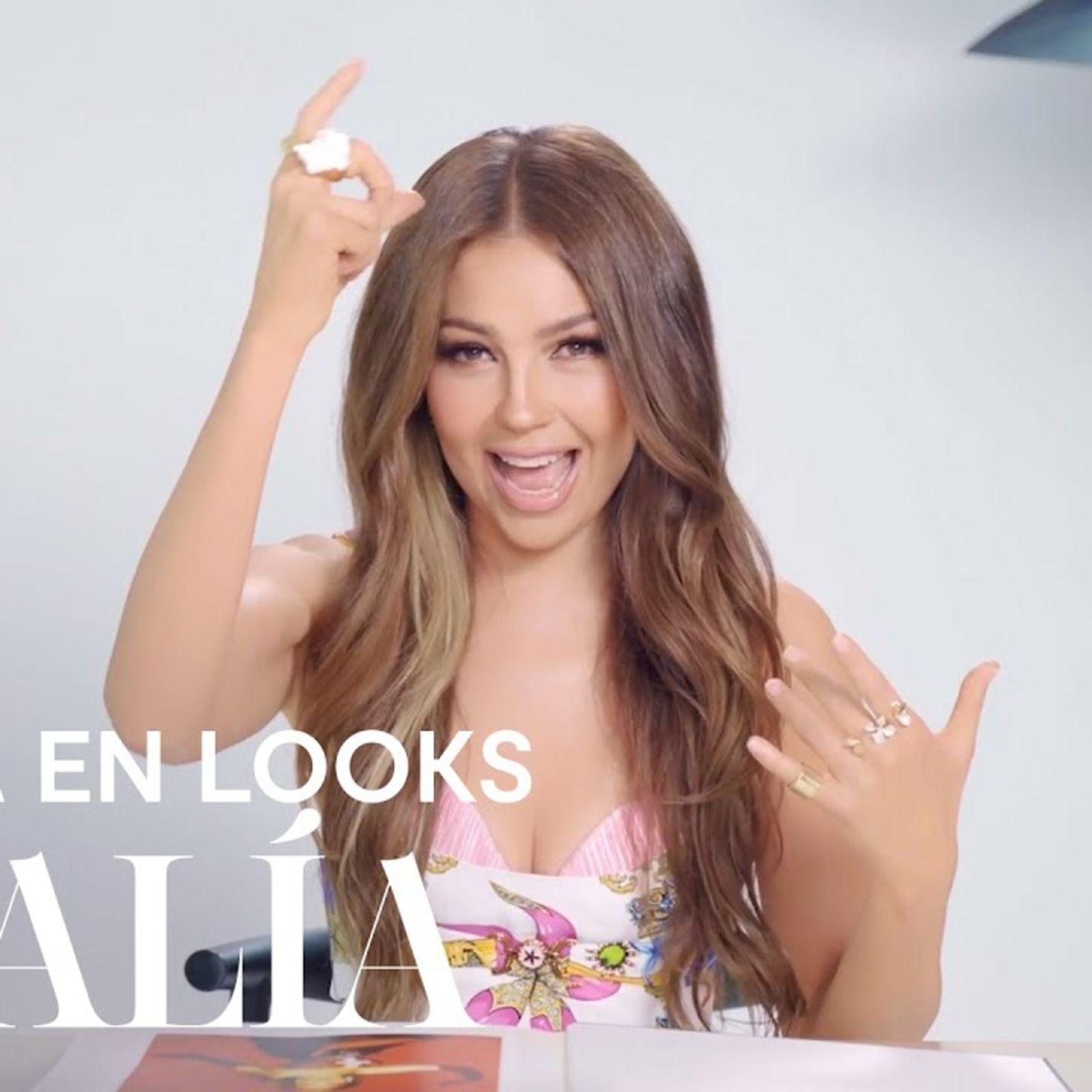 Thalía: Mi vida en looks