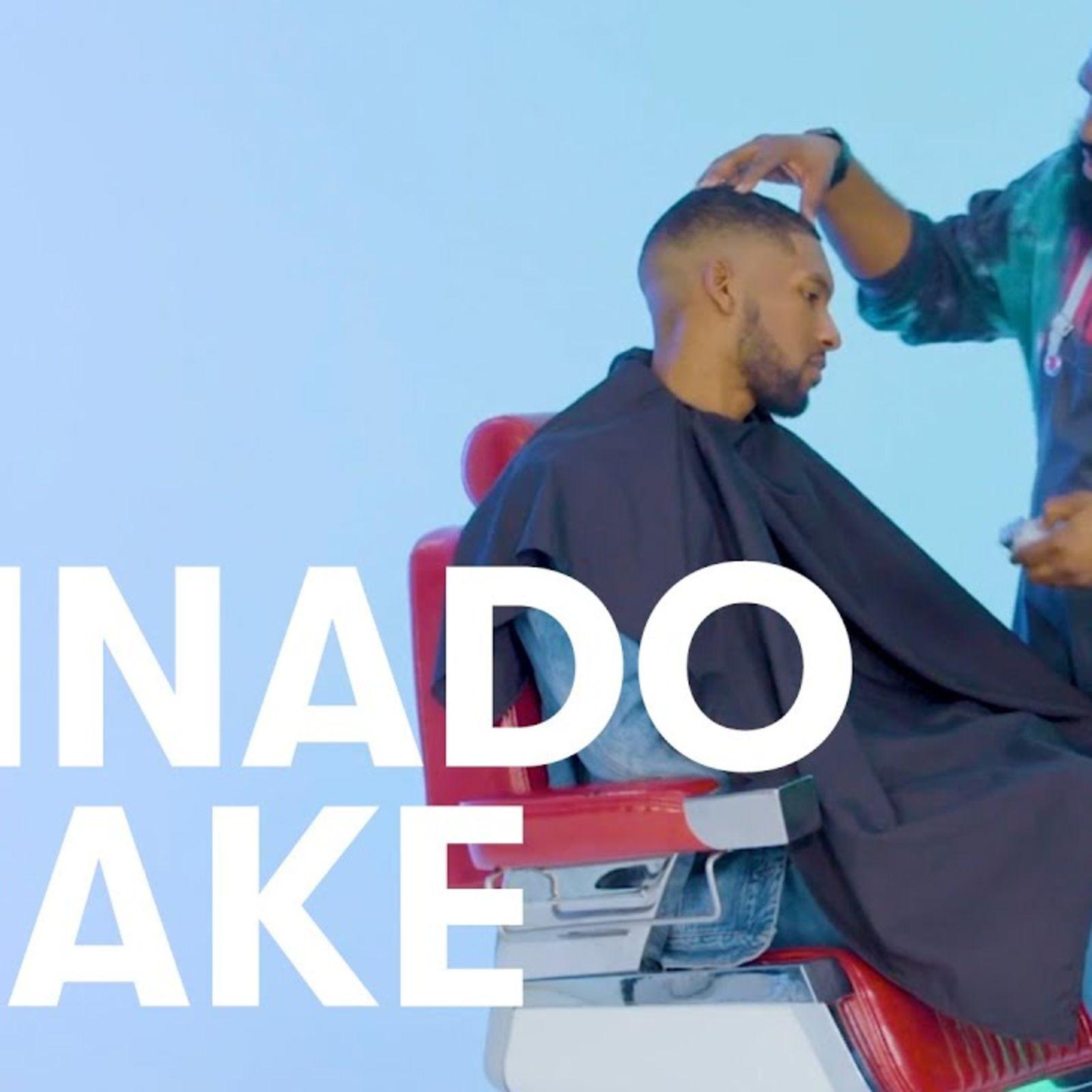 Recreando el peinado degradado de Drake