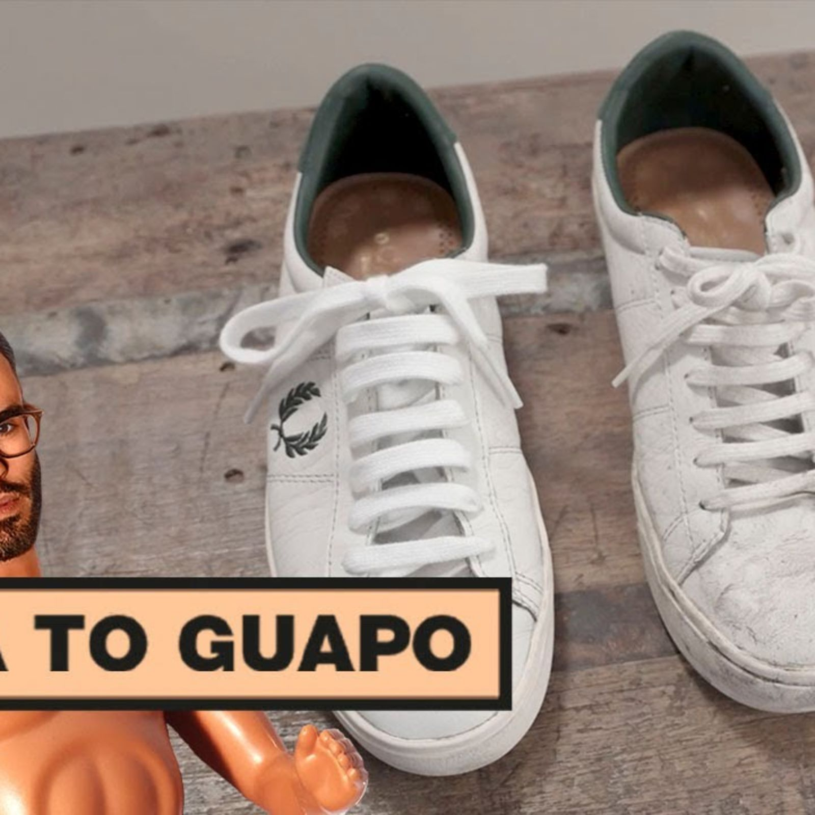 Cómo limpiar las zapatillas blancas (de piel o de lona) | Está to guapo