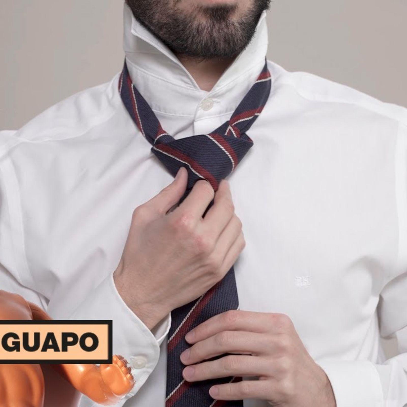 Cómo hacer el nudo de la corbata | Está to guapo