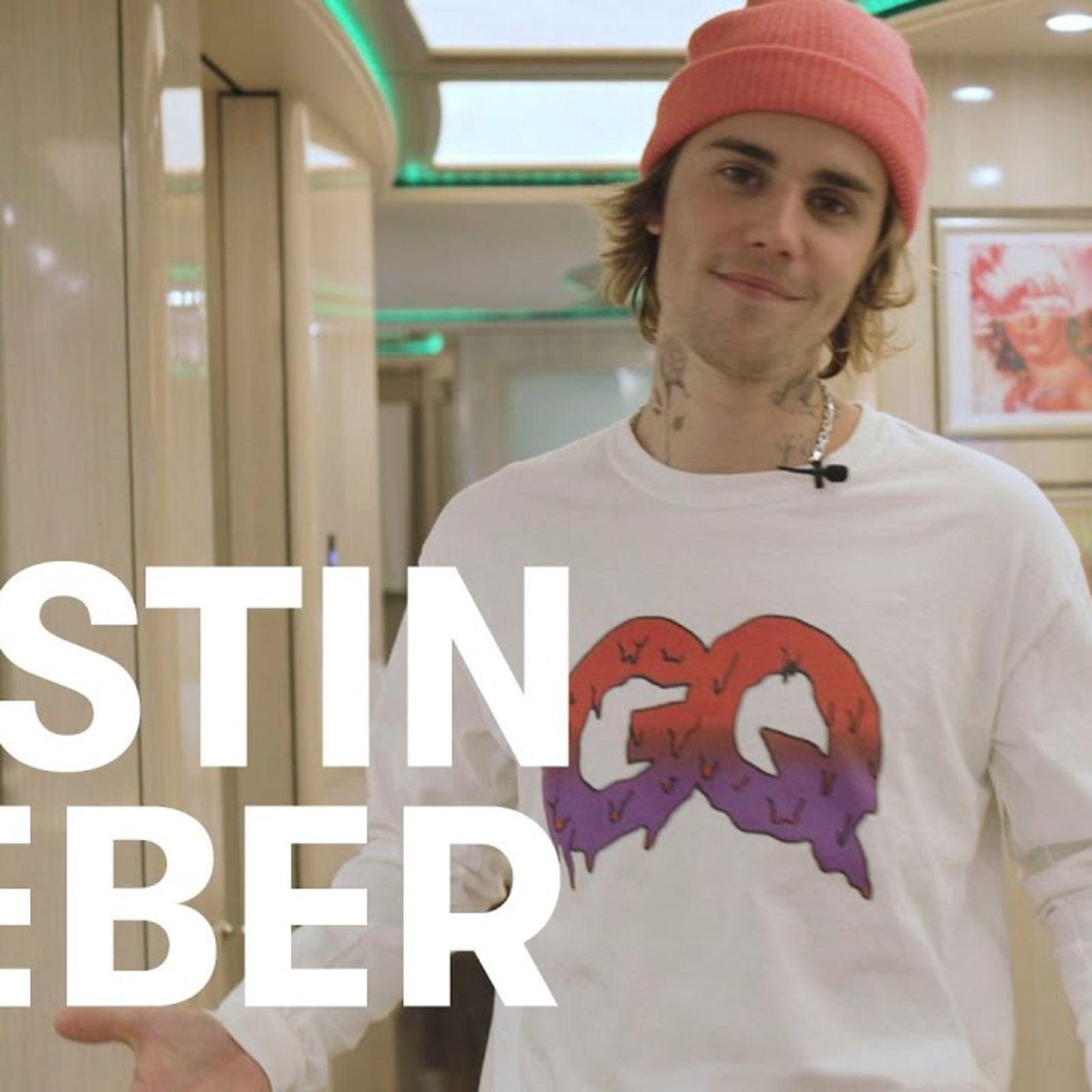 Justin Bieber nos enseña el autobús de su gira