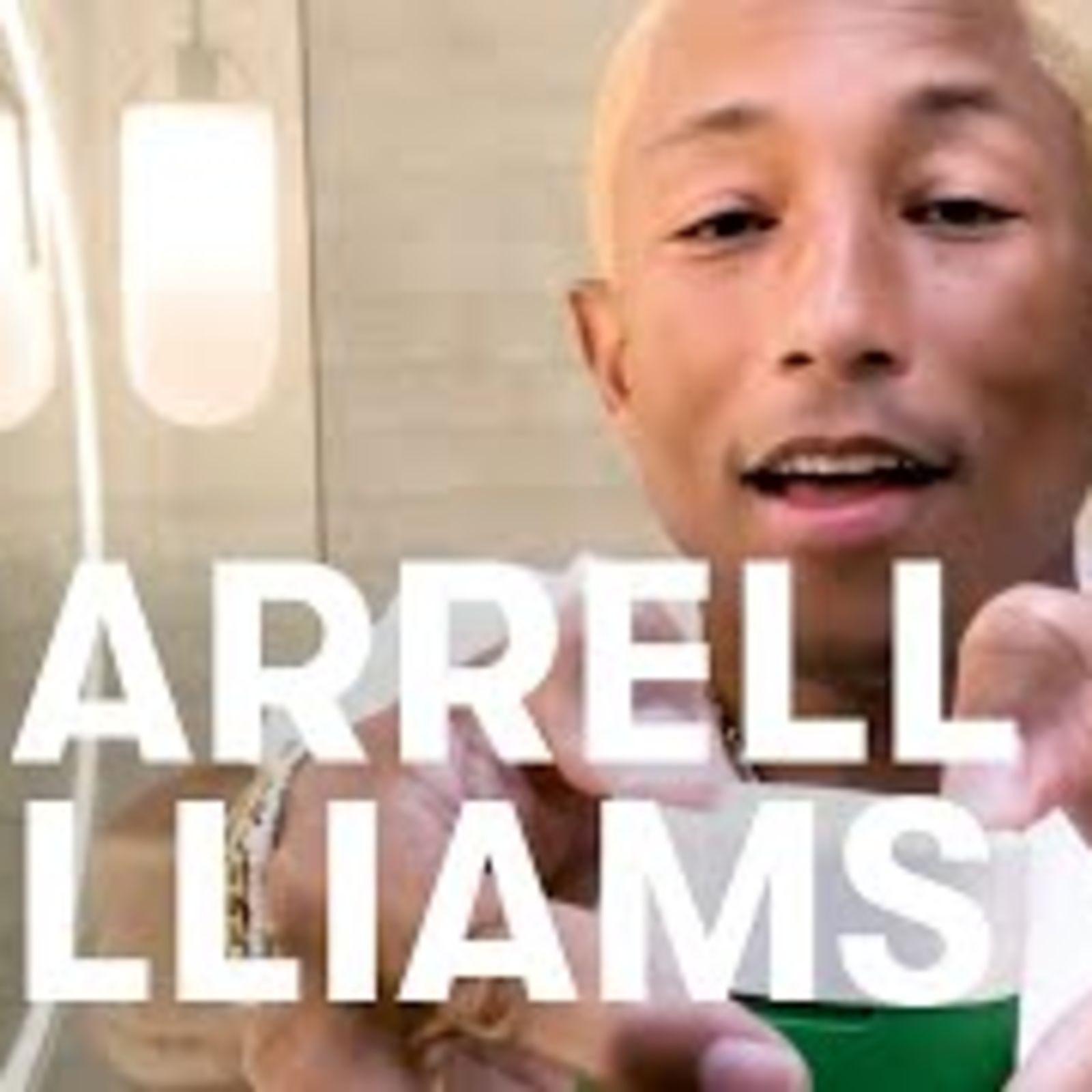 El secreto para no envejecer de Pharrell Williams