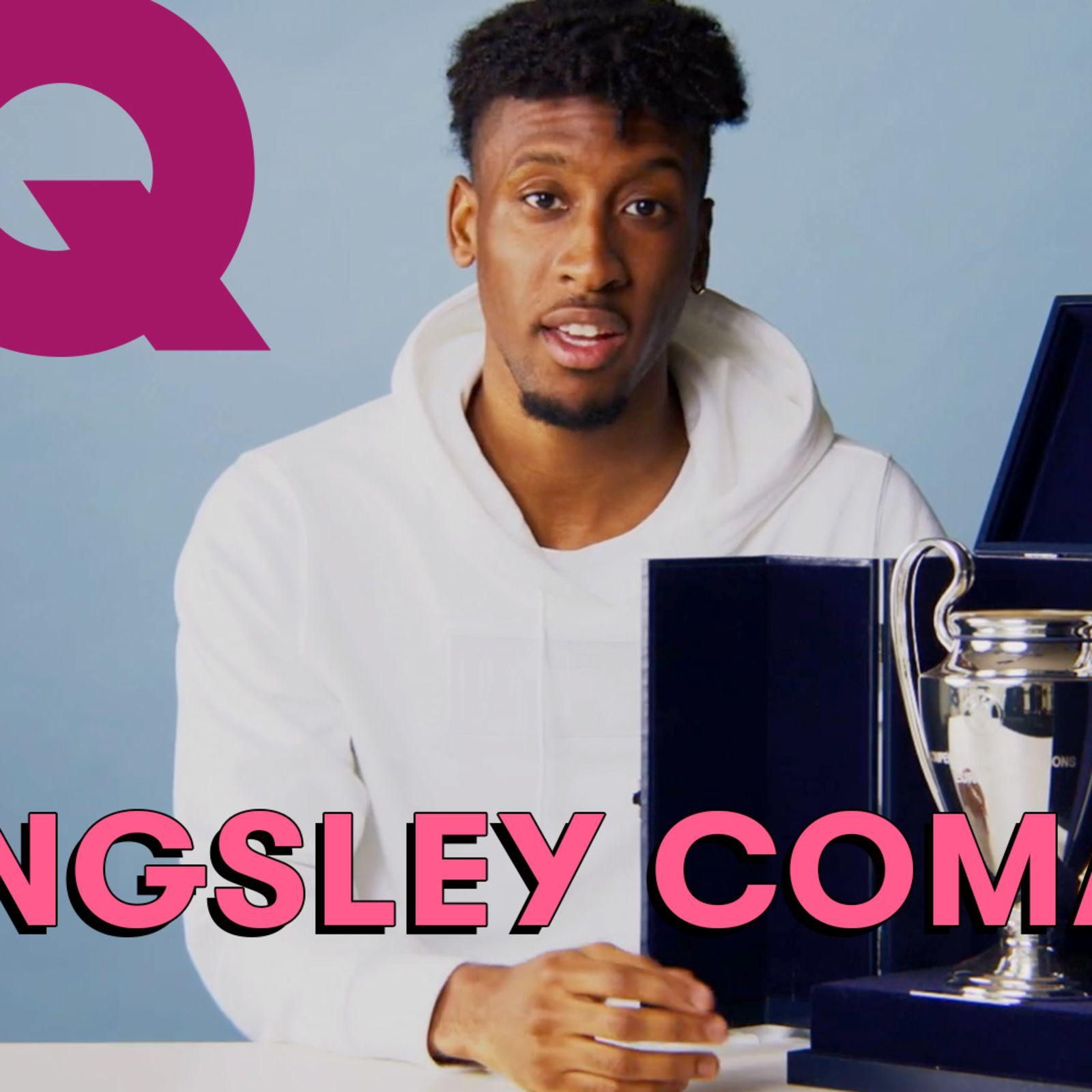 Les 10 Essentiels de Kingsley Coman (Trophée, Macbook, jeu d'échecs)