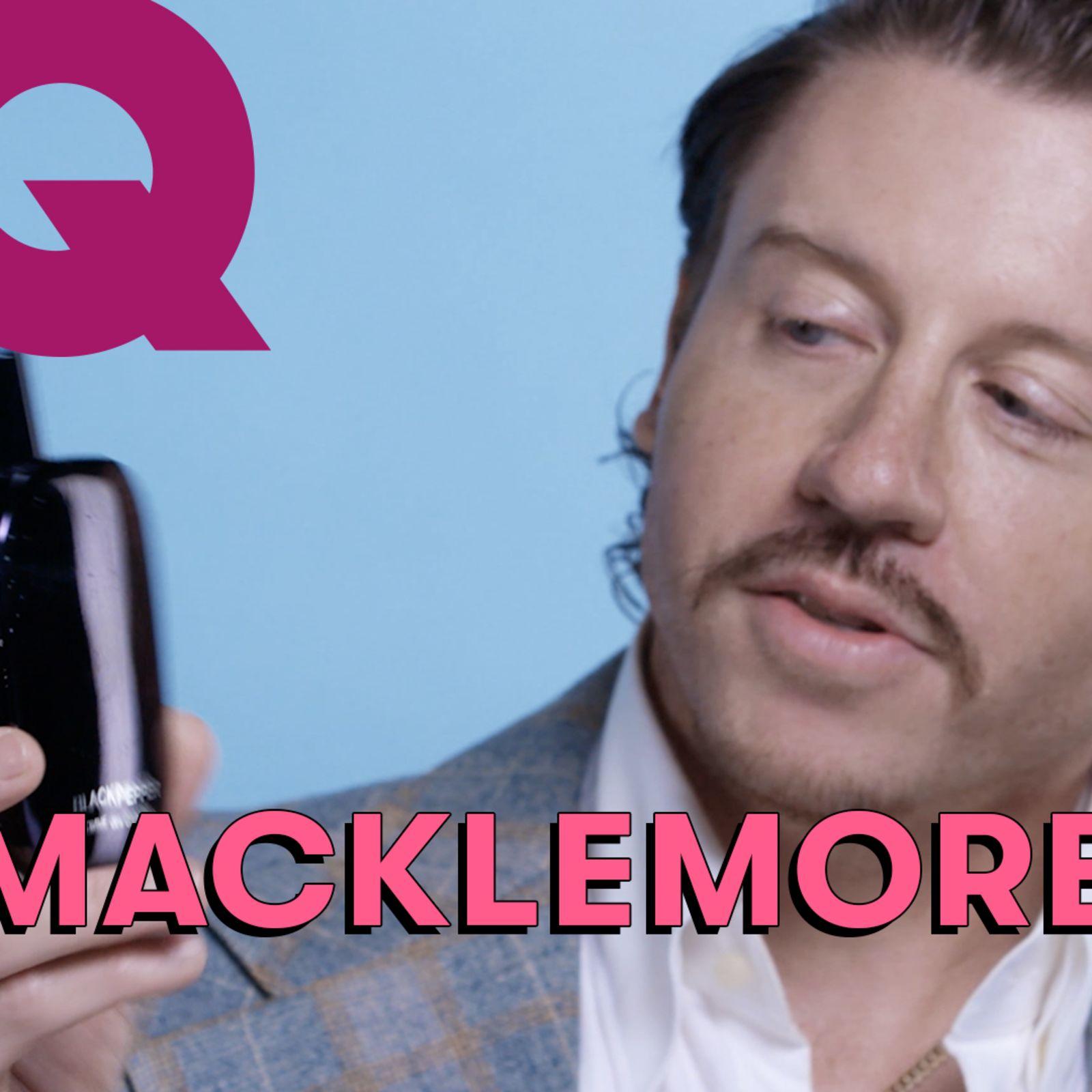 Les 10 Essentiels de Macklemore (Parfum, balles de golf, montre)