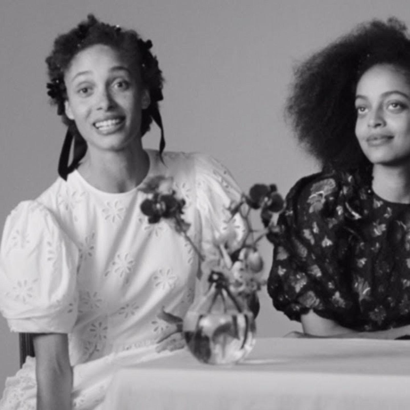 Adwoa & Kesewa Aboah On The H&M X Simone Rocha Collection