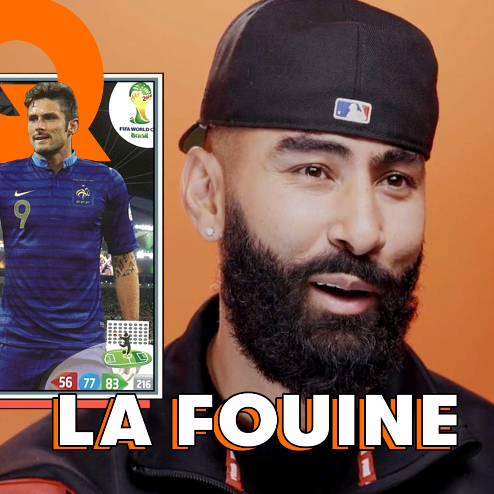 La Tier List football de La Fouine : Messi, Benzema, Ronaldinho