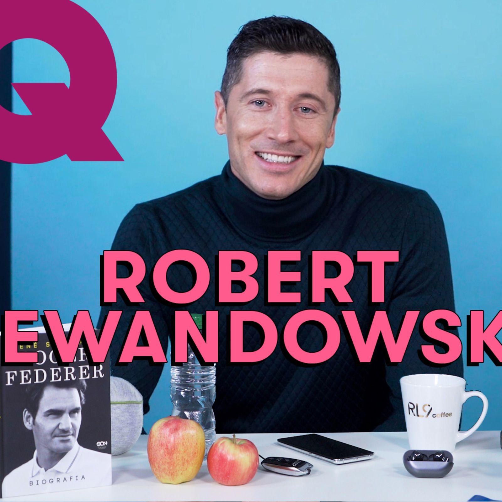 Les 10 Essentiels de Robert Lewandowski (café, ballon et Audi)