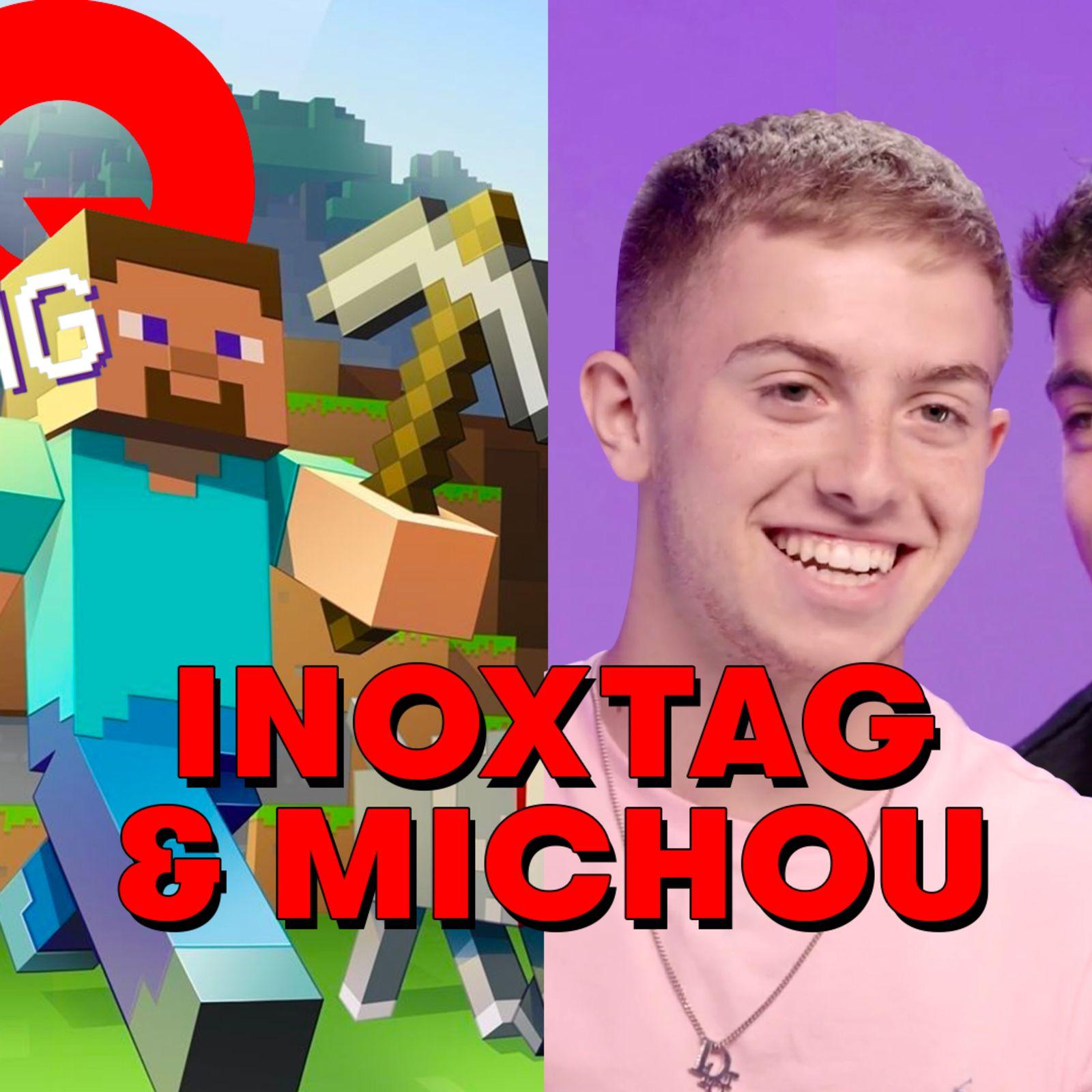 Michou et Inoxtag jugent 6 succès du gaming | Minecraft, Among Us, Super Mario Bros