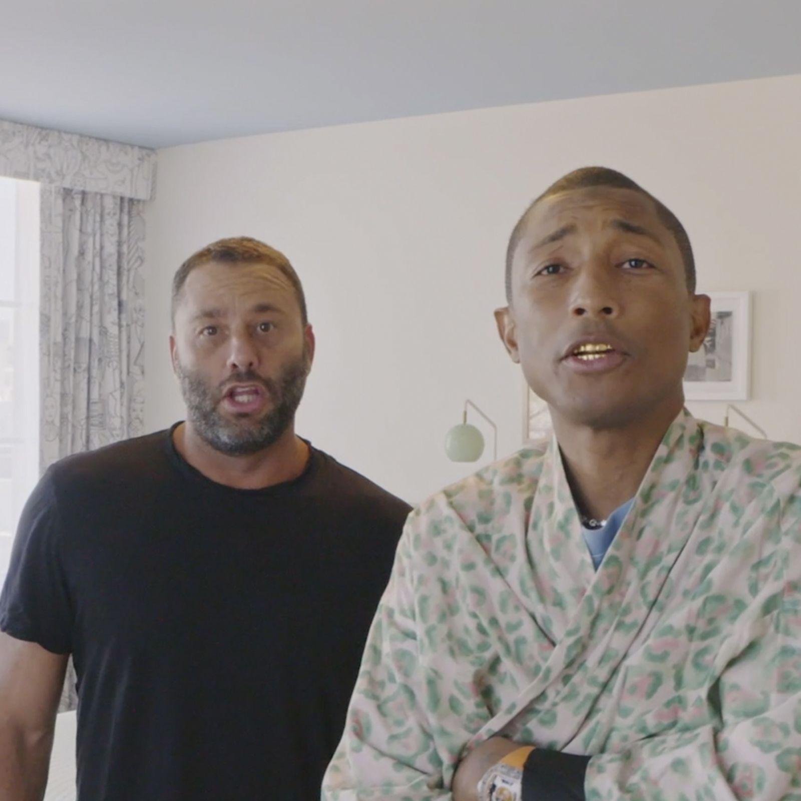 Pharrell Williams nos enseña en exclusiva su hotel de Miami