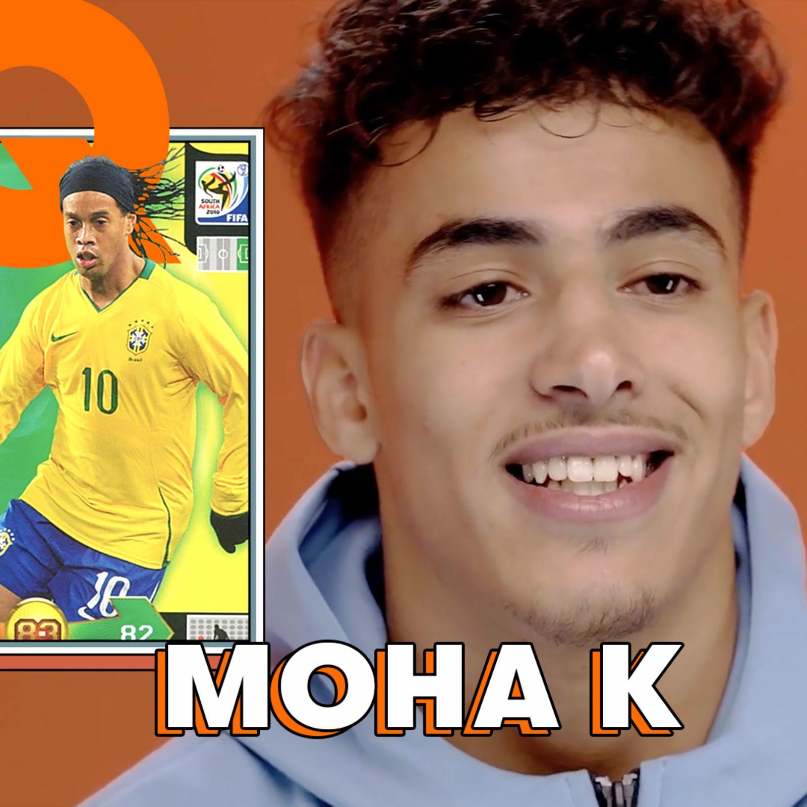 La Tier List football de Moha K : Ramos, Cavani, Iniesta