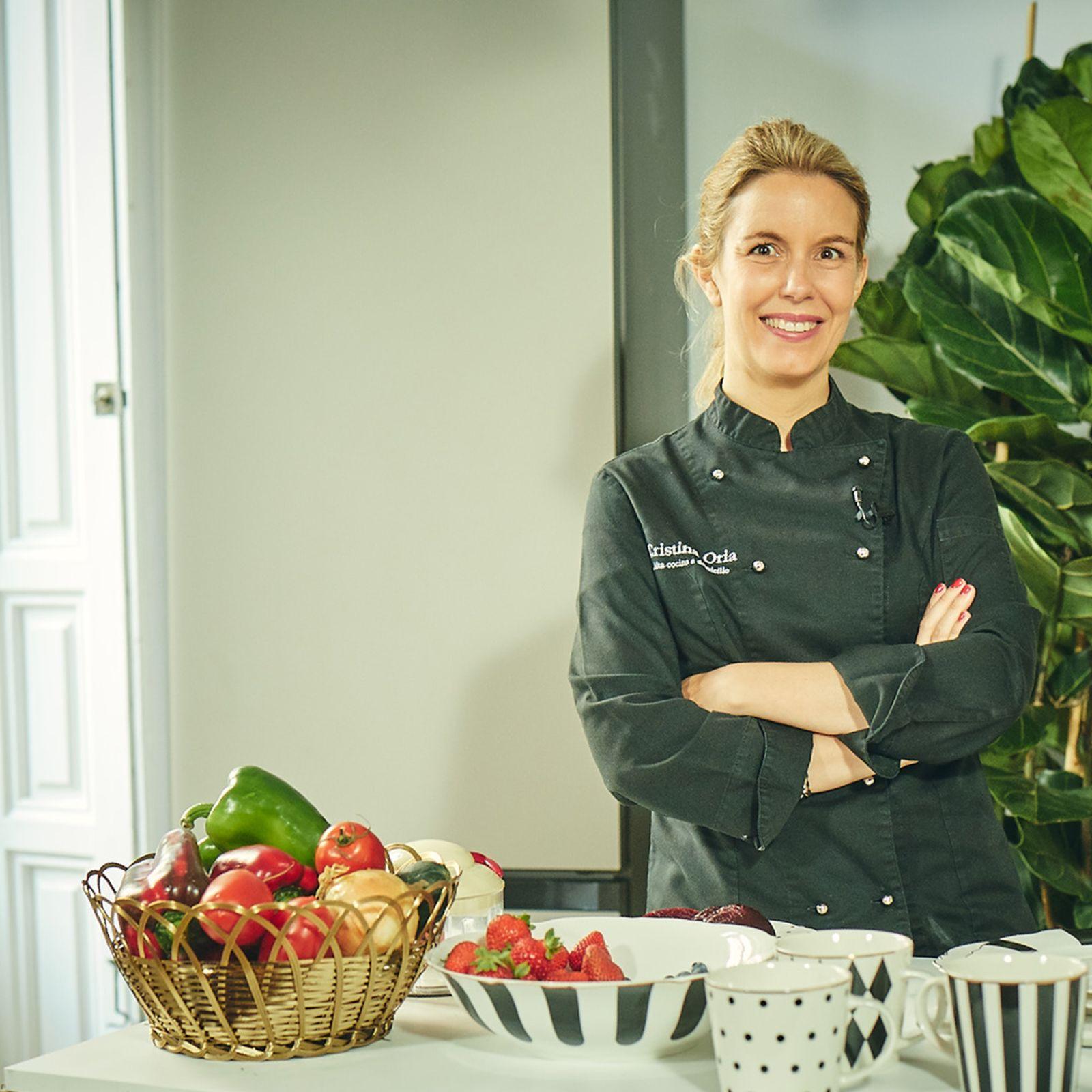 Los platos de la chef Cristina Oria para triunfar este verano