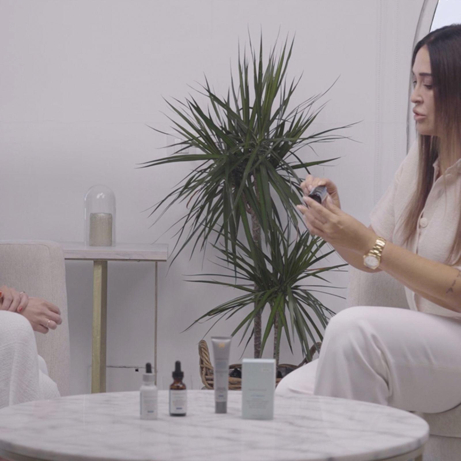 La rutina de belleza (antioxidante y antimanchas) de Vicky Martín Berrocal para el verano