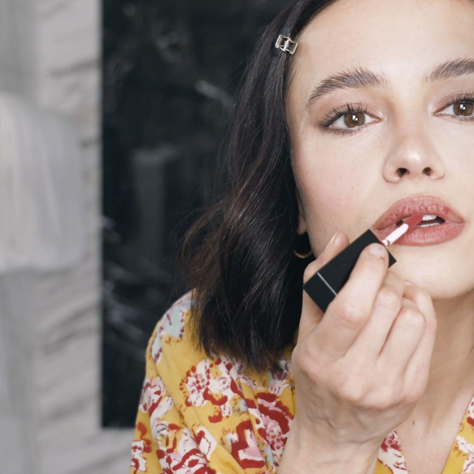 Un maquillaje con ojos ahumados por Guiomar Puerta