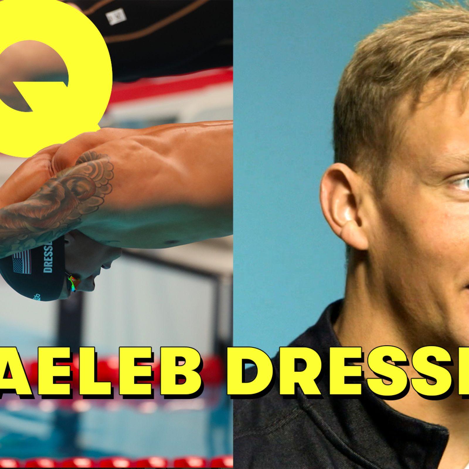Le nageur olympique Caeleb Dressel décrypte des scènes de natation au cinéma