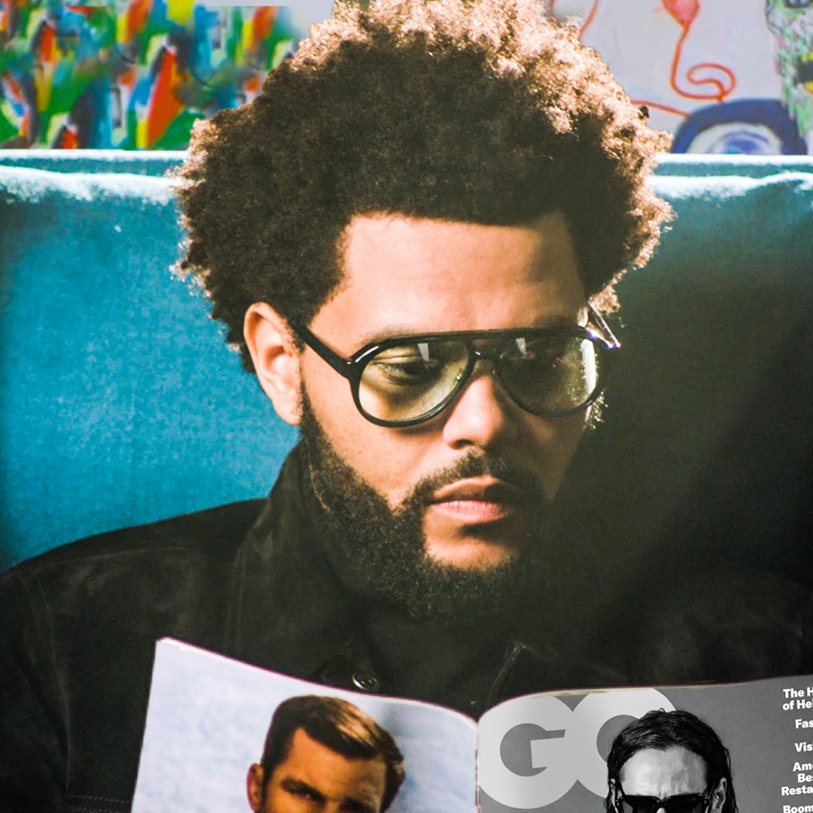 The Weeknd Reads GQ Until The Lights Go Out   British GQ