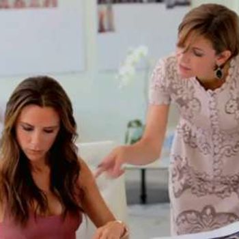 Victoria Beckham on Making Glamour's September 2012 Full-On Fashion Issue