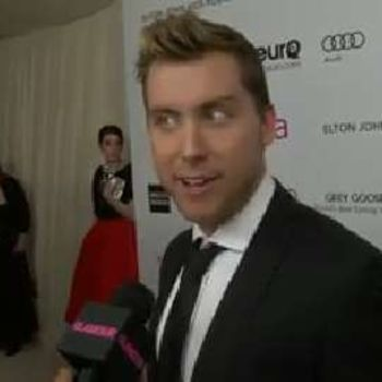 We Talk the Oscars With Lance Bass, Aisha Tyler, and More of Your Favorite Celebs at Elton John's After Party