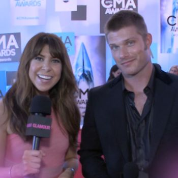 Nashville's Chris Carmack and Glamour's Jessica Radloff Talk to Country Music's Biggest Stars on the CMAs Red Carpet