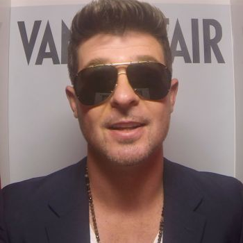 "Robin Thicke Talks About ""Blurred Lines"""