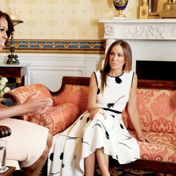 Watch Kerry Washington, Sarah Jessica Parker, and Michelle Obama Meet at The White House for Glamour's May Cover Shoot