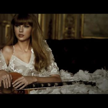 Taylor Swift Breaks Out Her Guitar at Parisian Photo Shoot