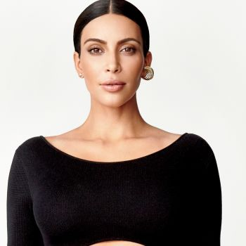 Hairstyle How-To: Kim Kardashian West on the Cover of Glamour