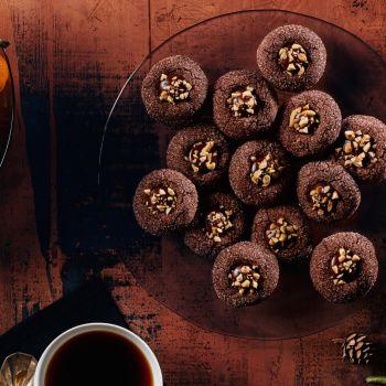 How to Make the Ultimate Chocolate Thumbprint Christmas Cookies