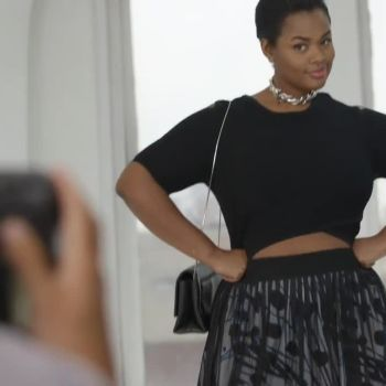3 Surprisingly Flattering Spring Fashion Trends For Curvy Girls, Modeled by Precious Lee