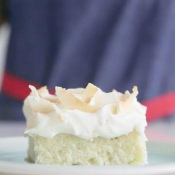 How to Make Coconut Key-Lime Sheet Cake