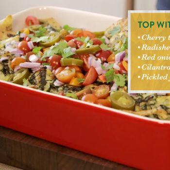 Hellmann's: Kale & Artichoke–Dipped Nachos