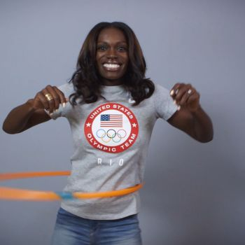 American Olympic Hopefuls Attempt to Hula Hoop