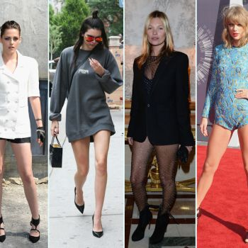 14 Times Your Favorite Celebrities Left Their Pants at Home