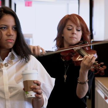 Lindsey Stirling Scores Your Work Day