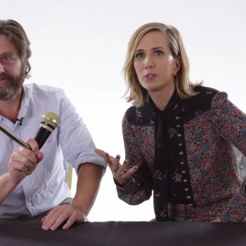 Kristen Wiig and Zach Galifianakis Review What It's Like To Be a Kid