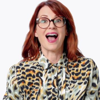Megan Mullally Reacts to Old-Fashioned Sex Advice