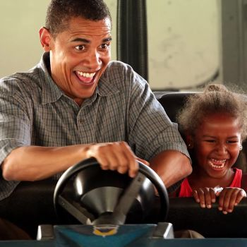 Literally Just 20 Photos of Barack Obama Being Adorable With Kids