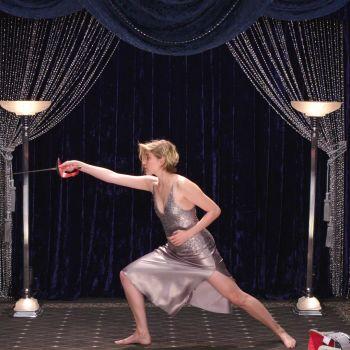 Greta Gerwig Shows Off Her Secret Fencing Talent