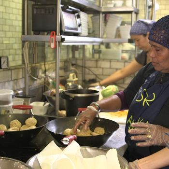 Inside the Restaurant That Hires Grandmas Instead of Chefs