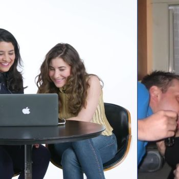 Couples Review Each Other's First Year on Facebook: Sara & Jules